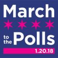 Chicago Women's March to the Polls – 1/20